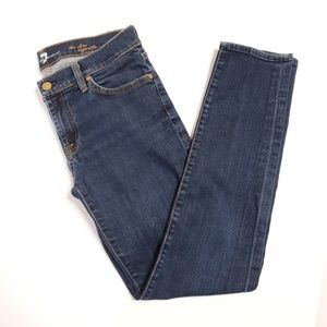 7 For All Mankind Slim Cigarette Jeans Size 29
